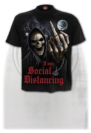 SOCIAL DISTANCE - T-Shirt Black